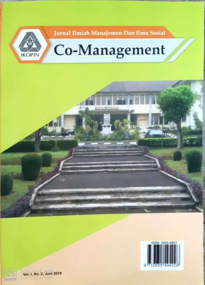 JURNAL CO-MANAGEMENT: VOL.1 NOMOR 1